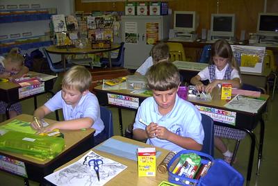 2007-08-21 3rd Gr 1st Week School