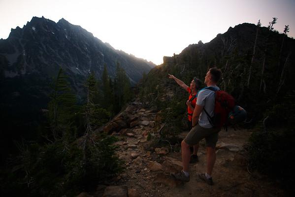 Mt Stuart: West Ridge
