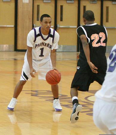 Belleville at Pioneer basketball 2009 - JV