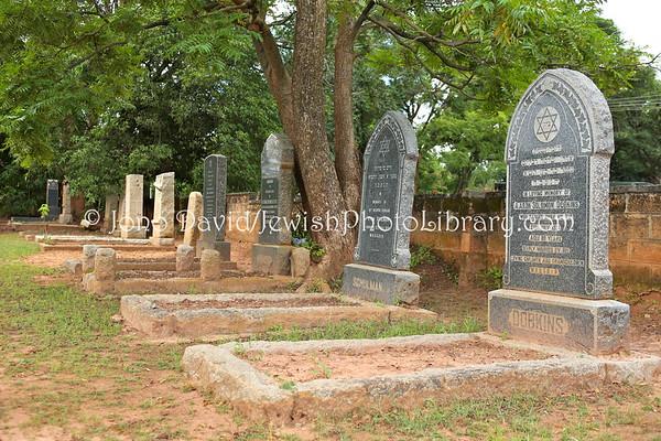 ZAMBIA, Ndola. Kansenshi Jewish Cemetery (Kitwe Road) (2.2013)