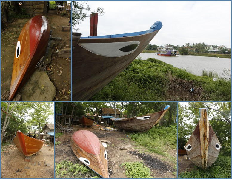 """When it comes to Vietnamese Boats - the """"eyes"""" have it."""