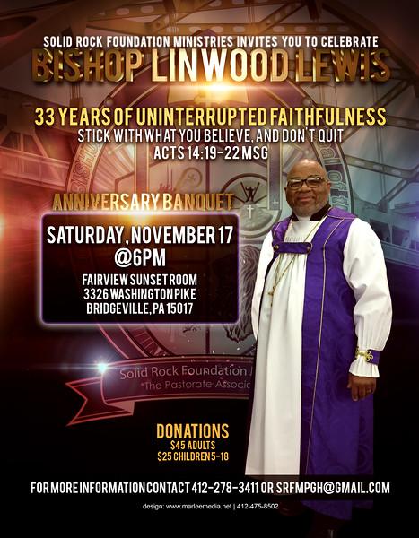 Bishop Linwood Lewis Banquet