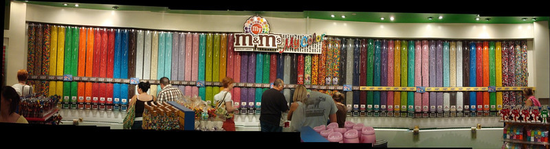 M&M World Dispensers Panoramic