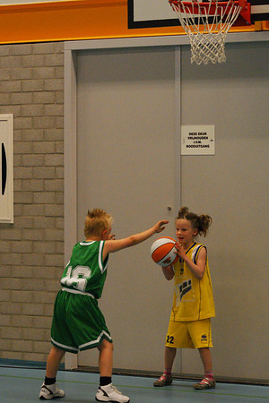 Basketbal 25 april 2009