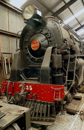 NZ Railways Ka 935 steam locomotive