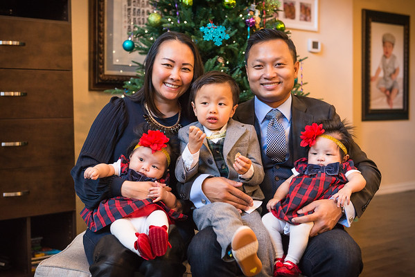 Aung Family - Christmas 2016