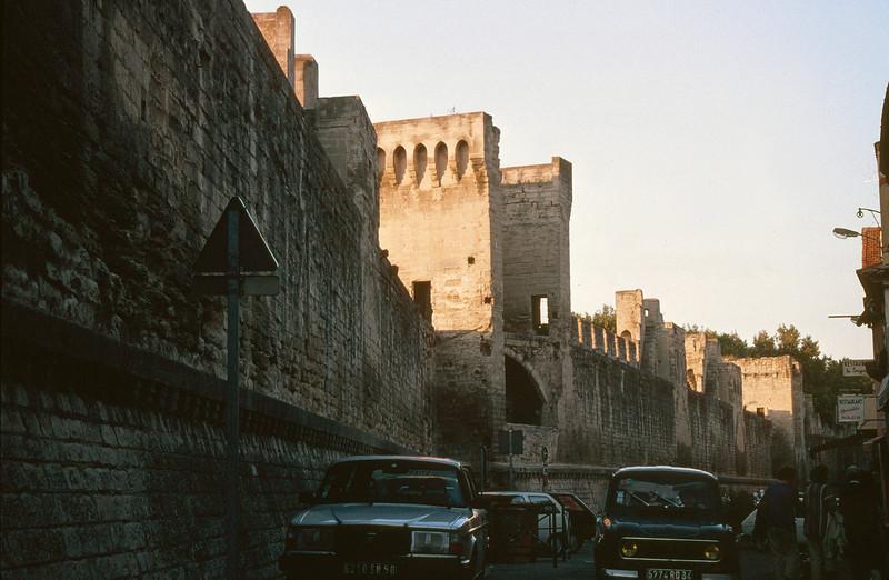 Avignon's Medieval Wall