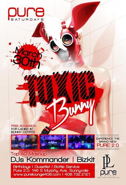 3/30 [Toxic Bunny@Pure Lounge]
