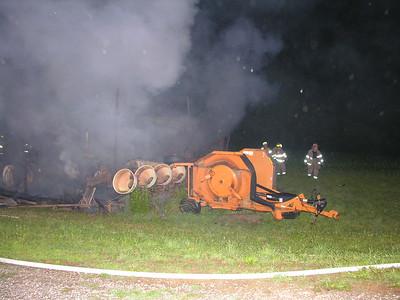 06-22-08 Walhonding Valley FD Barn Fire