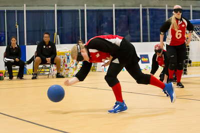 Women's Goalball, Gold Medal Game, USA vs Canada