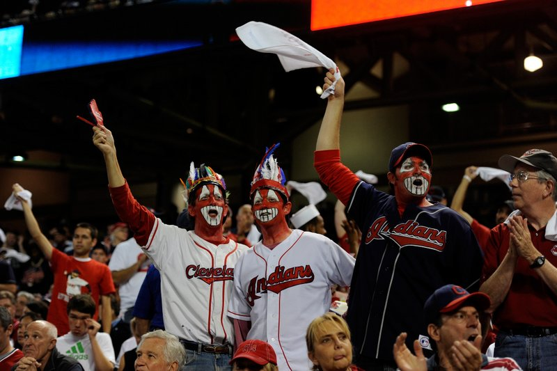 """. <p>6. CLEVELAND INDIANS FANS <p>They�re not all insensitive jerks � just the Chief Wahoos with the war paint. (unranked) <p><b><a href=\'http://www.huffingtonpost.com/2013/10/03/indians-fans-red-face-chief-wahoo_n_4036326.html?utm_hp_ref=sports\' target=\""""_blank\""""> HUH?</a></b> <p>    (Jason Miller/Getty Images)"""