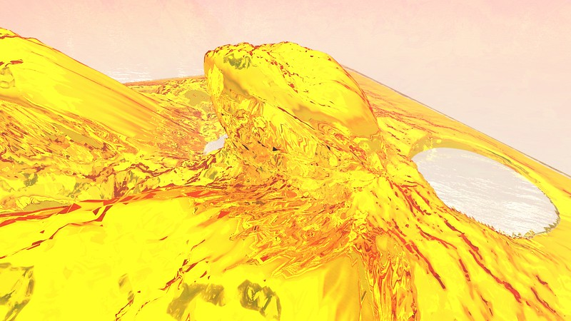 Gold Island 27 : A Computer Generated Image from Daily Animation