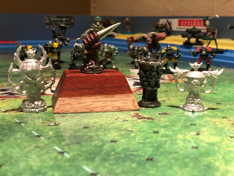 4 Blood Bowl Cups 100$ (Spike, Dungeon, Chaos and Blood Bowl)