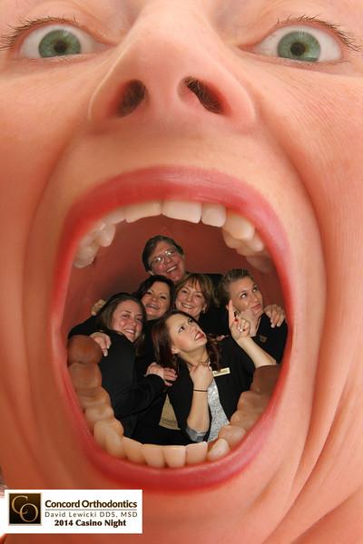 Concord Orthodontics Casino Night
