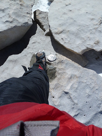 Mt. Whitney Main Trail - May 22, 2010