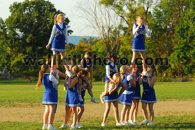 Wallkill Fighting Panthers vs Highland Falls - Cheerleading - 9-30-07