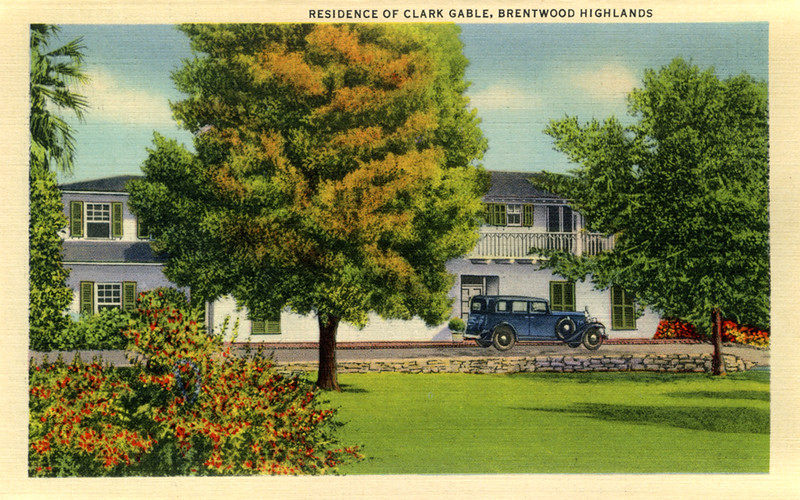 Residence of Clark Gable