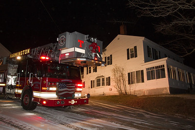 Chimney Fire - Titcomb Hill Road - December 17th, 2010