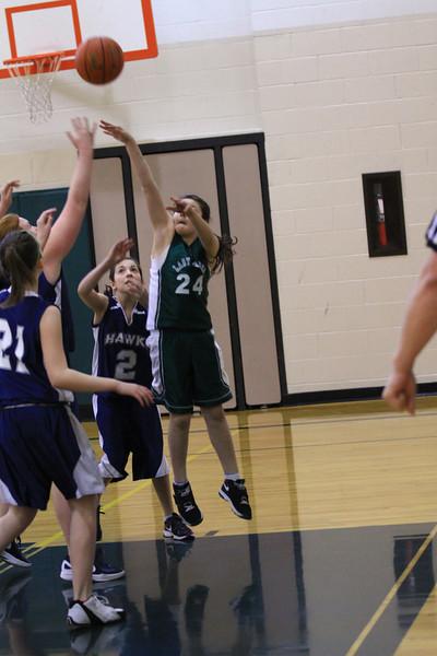 7th grade girls vs holly names 2-17-2012