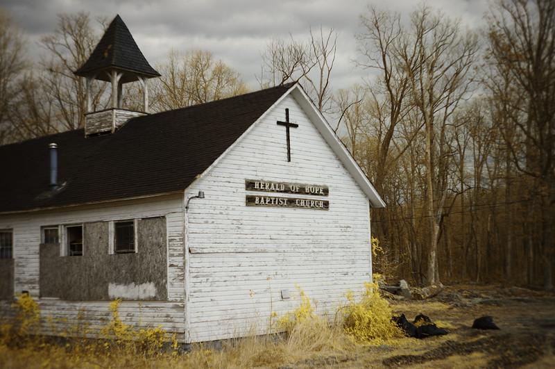 Abandoned Baptist Church---Deer Park, MD