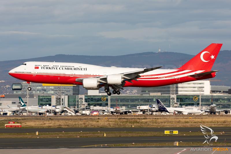 Turkey - Government | Boeing 747-8ZV(BBJ) | TC-TRK