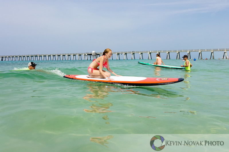 July 19, 2015. Autism Surfs, Panama City Beach County Pier.  Miles of smiles.  © 2015 Kevin Novak.