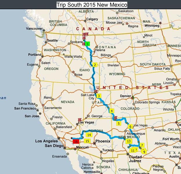 Trip South 2015 New Mexico