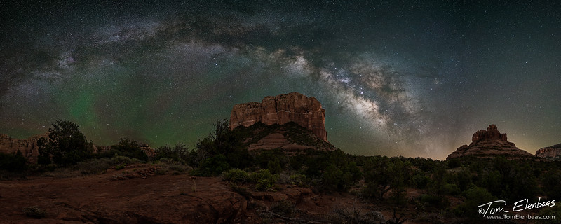 Courthouse Butte Milky Way