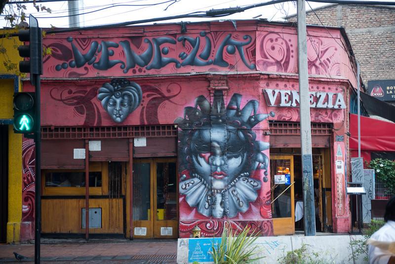 street art in barrio bellevista