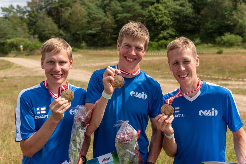 Pekka Niemi, Samuel Pökälä, Jussi Laurila - MM-pronssia