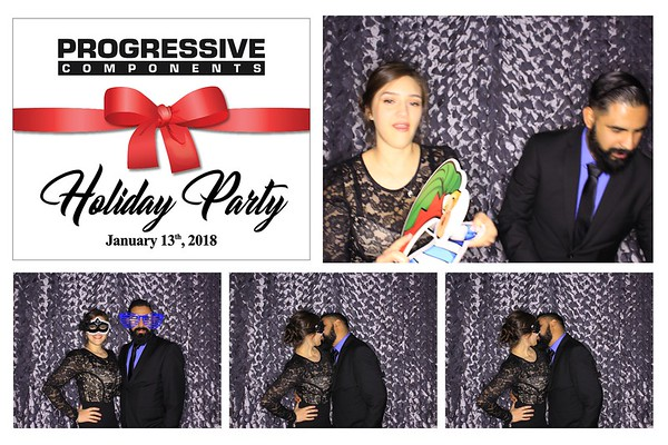"""Progressive Components """"Holiday Party 2018"""""""