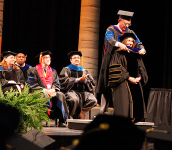 Doctoral hooding May 15