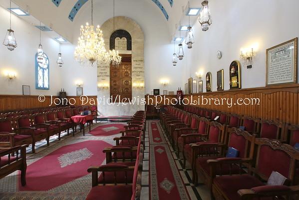 MOROCCO, Casablanca. Benarrosh Synagogue (3.2015)