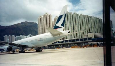 Kai Tak International Airport Hong Kong  1997