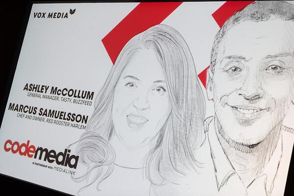 Ashley McCollum and Marcus Samuelson