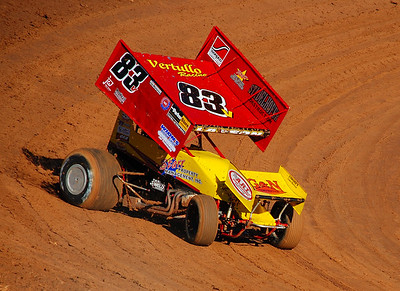 Placerville Speedway Sprintcars 7-09