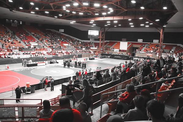 Crusaders @ State 4A Wrestling (Salina)  022219