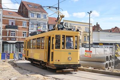 Belgium 2017 June : Brussels Tram Museum