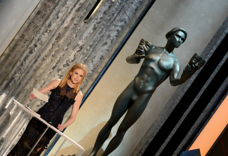. Actress Nicole Kidman speaks onstage during the 19th Annual Screen Actors Guild Awards held at The Shrine Auditorium on January 27, 2013 in Los Angeles, California.  (Photo by Mark Davis/Getty Images)