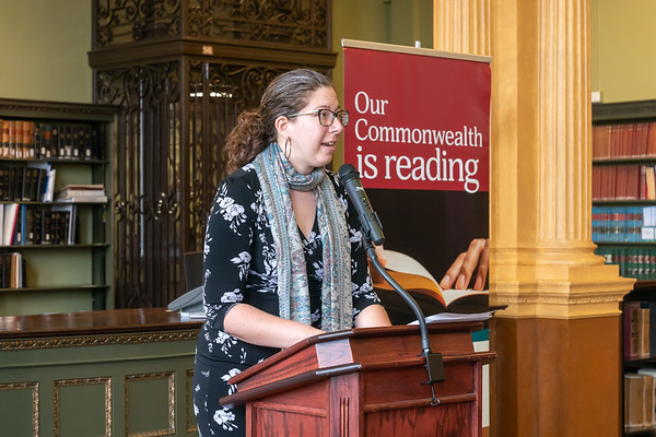 Mass Center for the Book: Letters About Literature 5/23/19