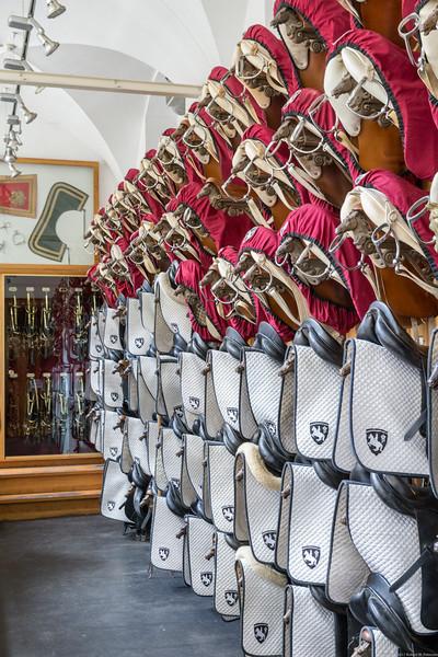 Spanish Riding School Tackroom