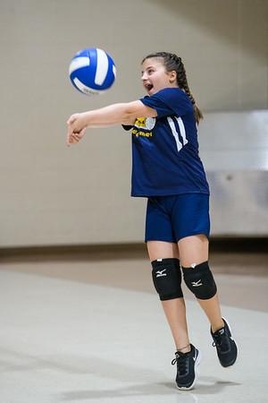 2021-09-18 6th Grade Girls Volleyball