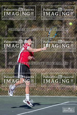 Gilbert Mens Tennis vs Batesburg-Leeseville