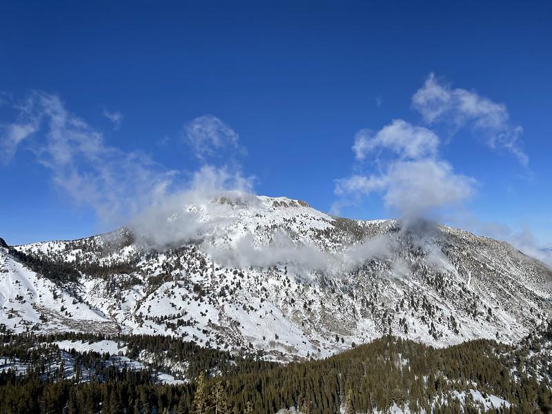 Mt Houghton from Tamarack Peak