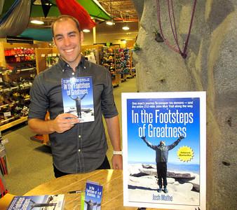 Josh Mathe Book Signing at REI