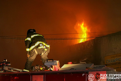 Auto Body Shop Fire - 23-59 Borden Ave, Queens, NY - 9/29/18