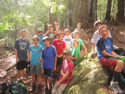 Mount Gardner Hike 2014