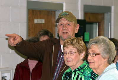 That gentleman was in the final graduating class at WHS in 1942. He's Gerald Lux of nearby Crawford, Nebraska.