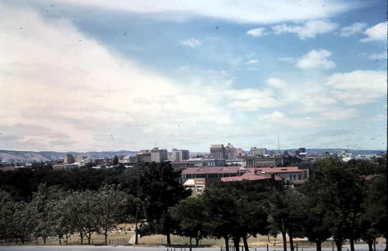 1958-11 (9) Adelaide from Colonel Light Statue.JPG