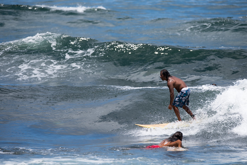 Surfer No Passing Zone